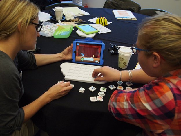 Photo of educators at Play - PAEYC unconference - Photo by Norton Gusky CC BY 4.0