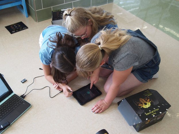 Students design drone game